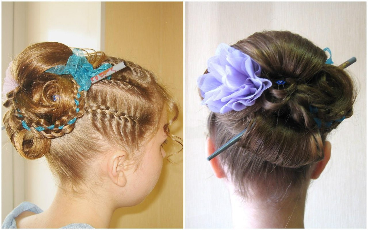 Детские причёски в картинках